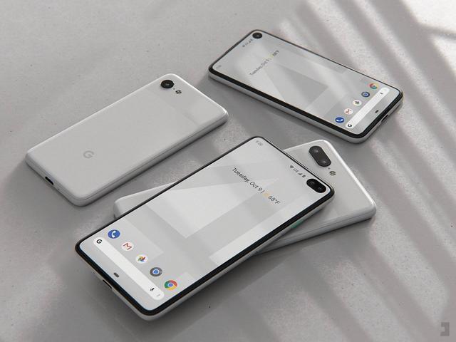 4.6英寸屏幕谷歌Pixel 4 mini手机,小巧可爱,看了真心想要