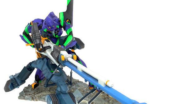 【模玩前线】正经的EVA周边,海洋堂初号机雕塑!