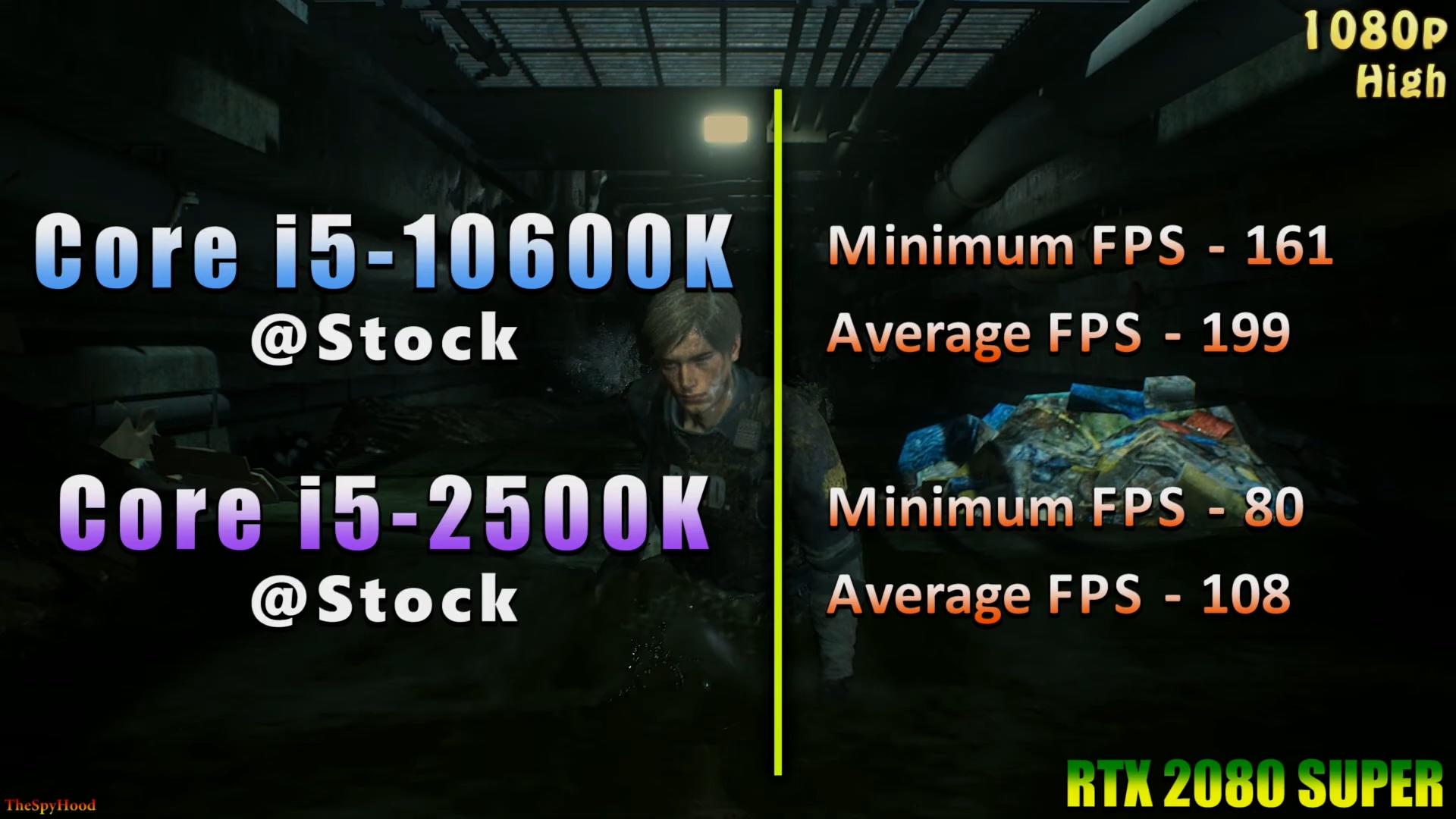 一代传奇I5-2500k 对比新生代i5-10600k