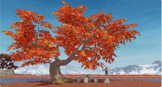 """vr女友视频_网易一梦江湖宅邸家园组件上新!""""枫树·流朱""""玩出新花样?-第3张图片-游戏摸鱼怪"""