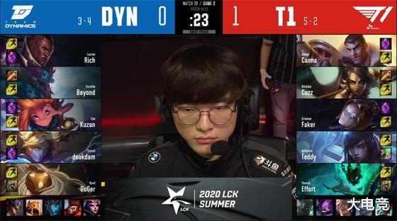 LOL LCK:Teddy厄斐琉斯关键团战被秒杀,DYN让一追二击败T1 狂暴之心 端游热点  第6张