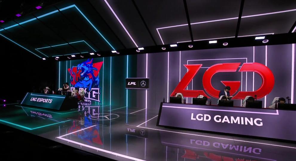 LNG掌控局面击败LGD,爆出大冷门,轻松零封LGD