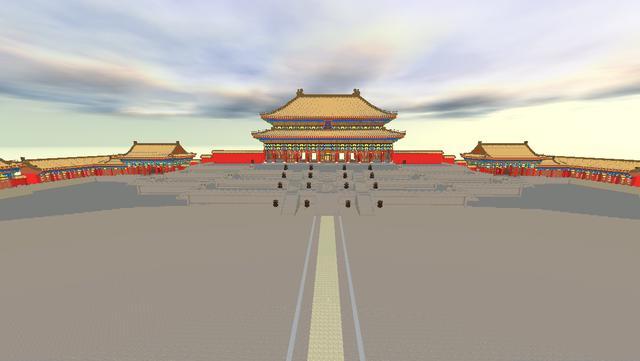 貂蝉皮肤_迷你世界:紫禁城是怎样搭建的?大神耗时3个月建成,霸气十足!
