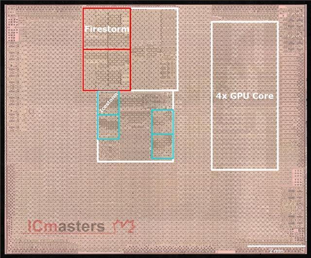还能更强,显微镜下看苹果A14:5nm只发挥了80%
