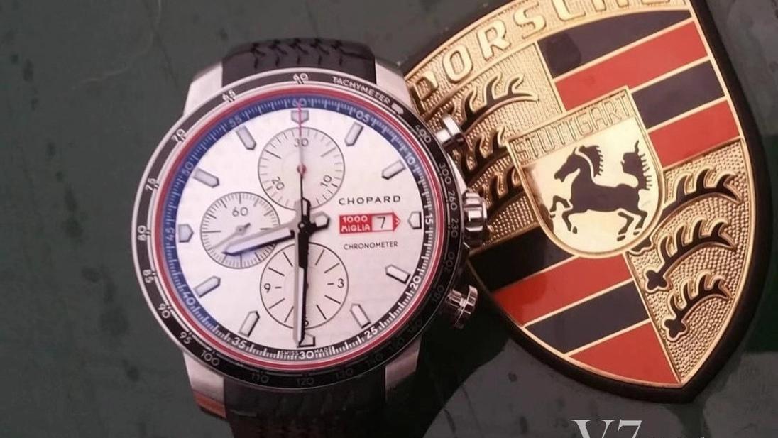 仪表不凡复刻表:V7萧邦经典赛车系列腕表评测讲解,英伦绅士风格绝配的计时腕表