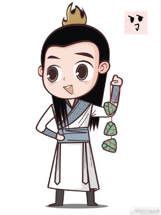 人才!肖战粉把他饰演的9个角色,做成端午节卡通图,魏无羡好萌,顾魏好帅