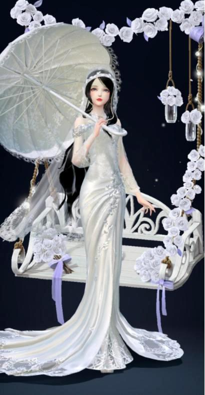 盘点云裳羽衣的婚纱套装,因爱之名最梦幻,圆了公主婚礼的梦 婚礼 时装搭配 婚纱 每日推荐  第8张