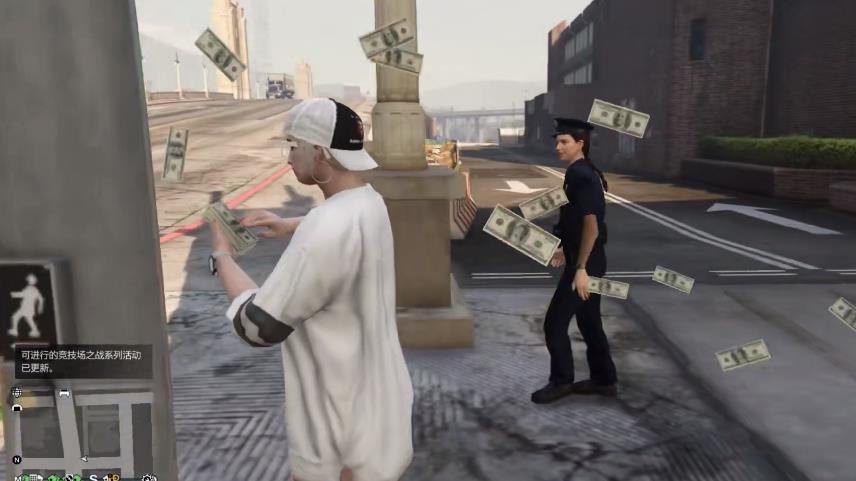 dnf男弹药pk加点_《GTA5》在小姐姐面前撒钱会发生什么?作死的边缘疯狂试探?