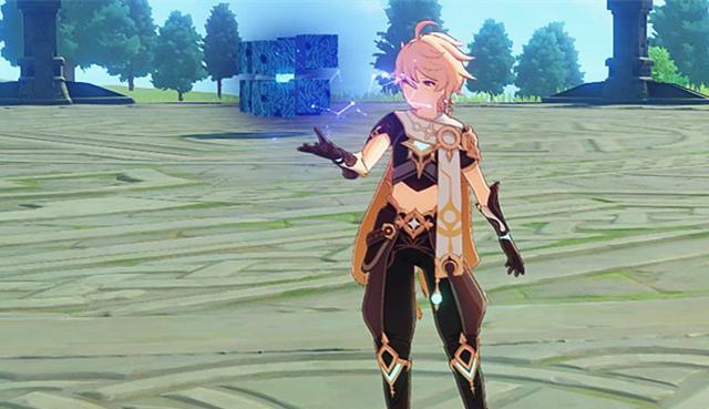 《【煜星账号注册】原神:游戏角色和游戏boss连连看,可莉就像一个会行走的爆炎树》