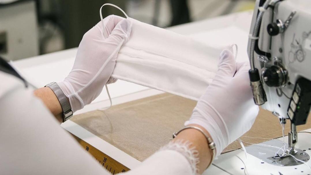 LV继生产洗手液后,又开启口罩生产线