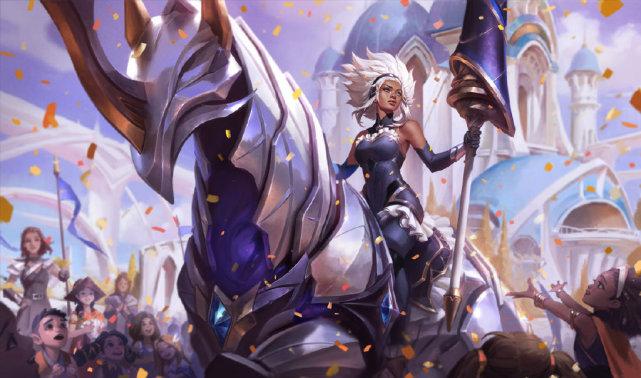 《【煜星娱乐集团】英雄联盟新英雄芮尔:身穿重甲的战斗少女!全身带控超级女坦克!》