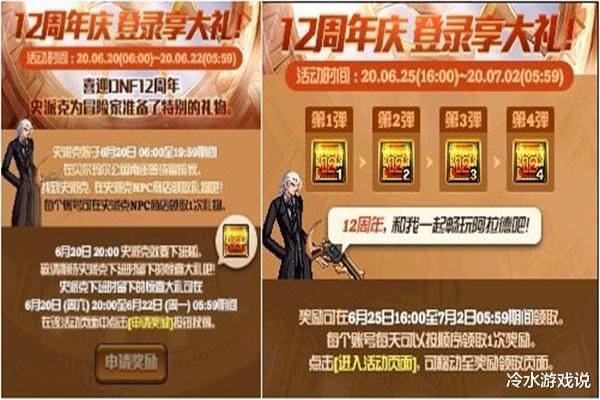 《【煜星娱乐平台怎么注册】DNF:周年庆站街4弹奖励出炉,12强化券来了,魔盒加入可交易透明》