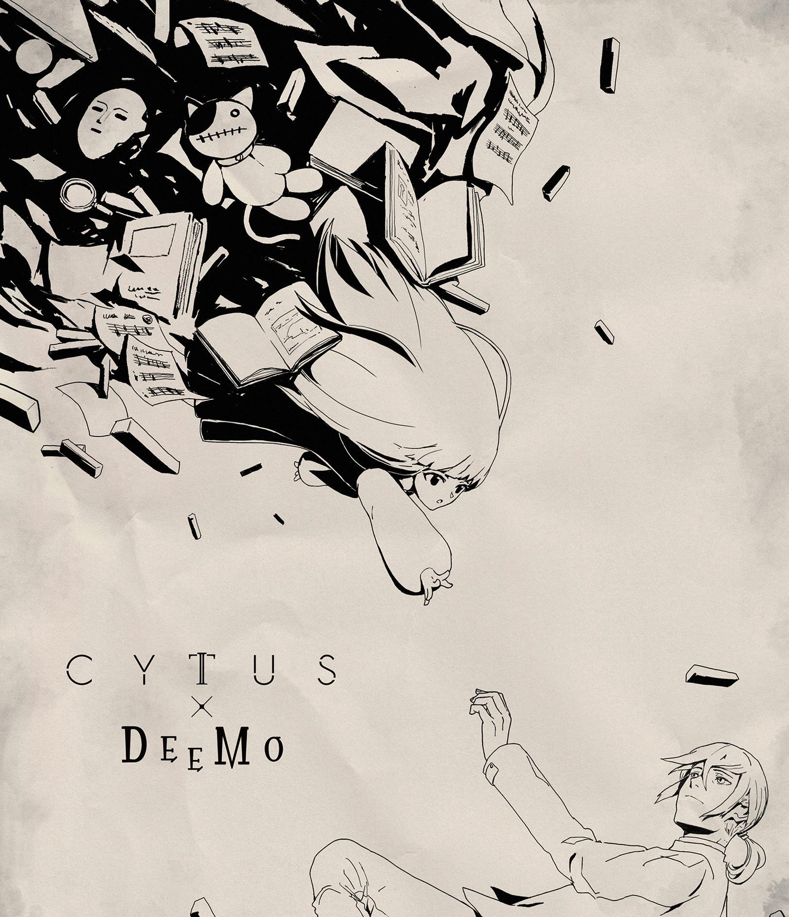 社区英雄_音乐世界: 雷亚与Deemo自我联动,再次回到那个树影繁盛的房间