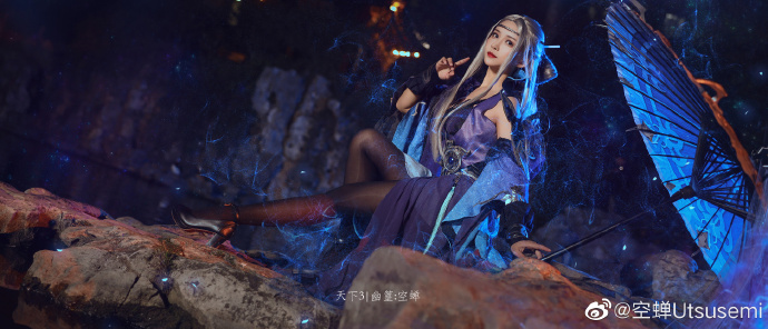 《【煜星娱乐登陆注册】【天下三手游】幽篁 cosplay欣赏》