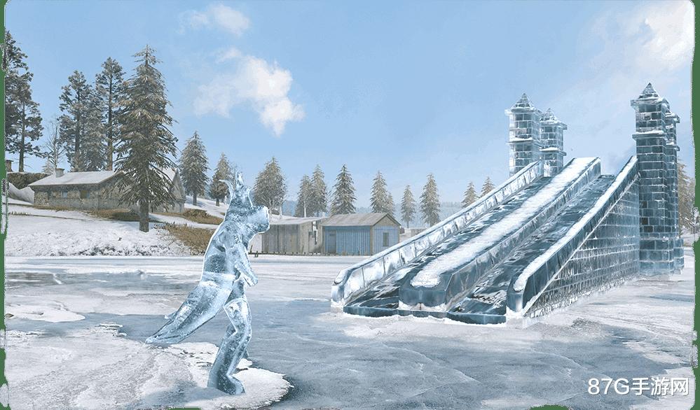 《【合盈国际品牌】和平精英:极寒模式限时回归,带上小伙伴一起来玩滑滑梯呀》