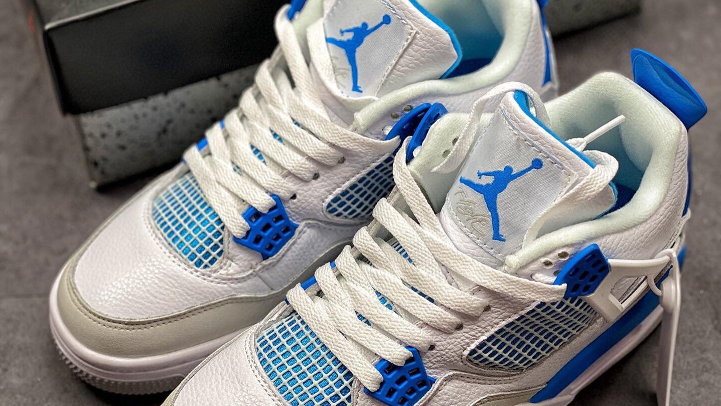 乔4代中帮复古休闲运动文化篮球鞋