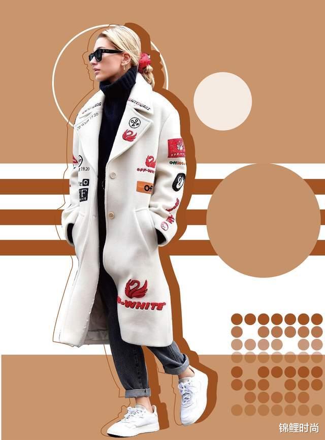 """今年的""""毛呢大衣+牛仔裤""""又火了,简单搭配也高级,明星都上头插图22"""