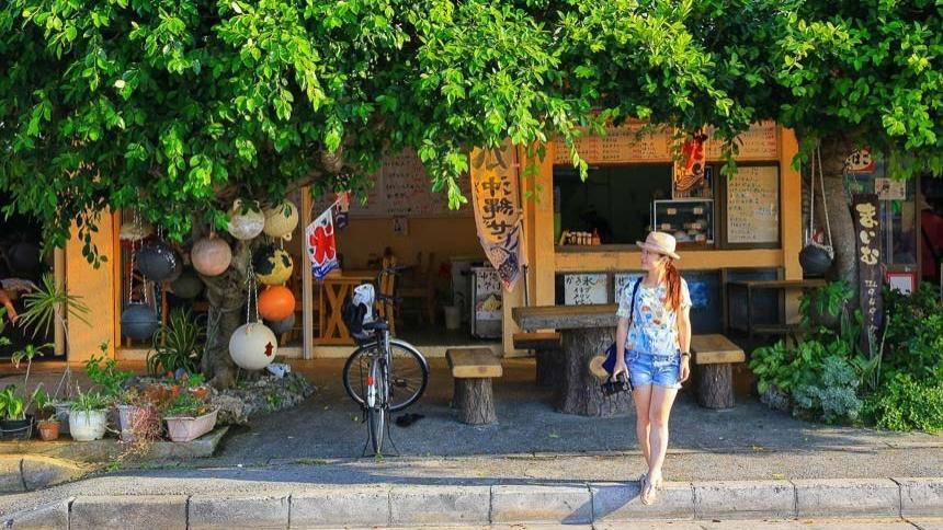 冲绳景点|奥武岛,迷人的猫咪之岛,海鲜美食探险之旅