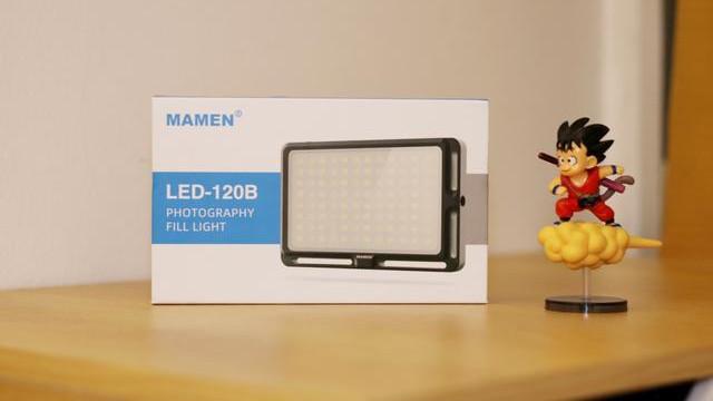 最高6500k色温+15W,摄影小配件,慢门LED补光灯评测