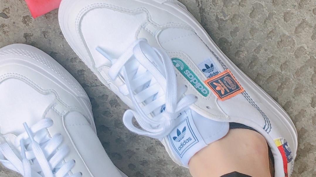 阿迪三叶草小白鞋神仙款