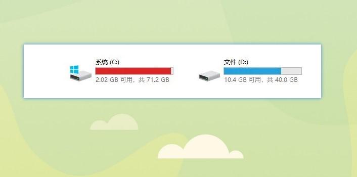 C盘为什么容易爆红?c盘文件夹全是英文怎么办?但是问题来了, 数码科技 第2张