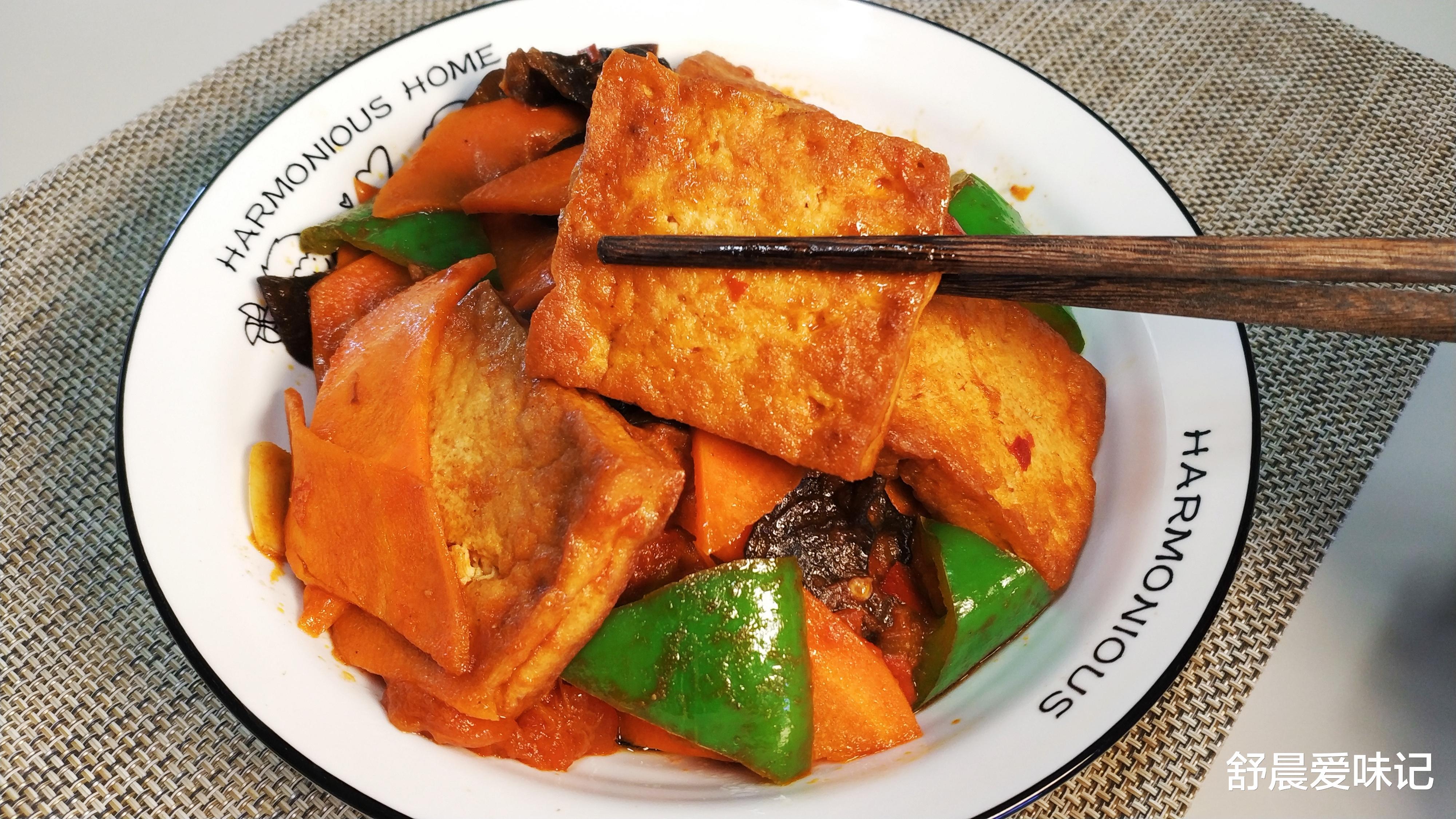 家常豆腐,地道好吃的家常菜,一煎一炒,上桌比大鱼大肉受欢迎