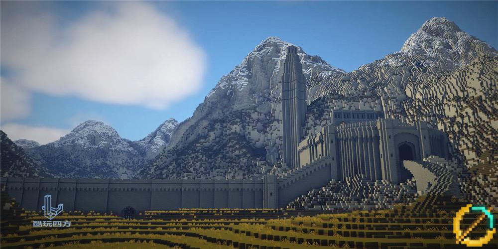 小小忍者雷_这可能是《我的世界》史上规模最大的大陆,耗时10年还没建完