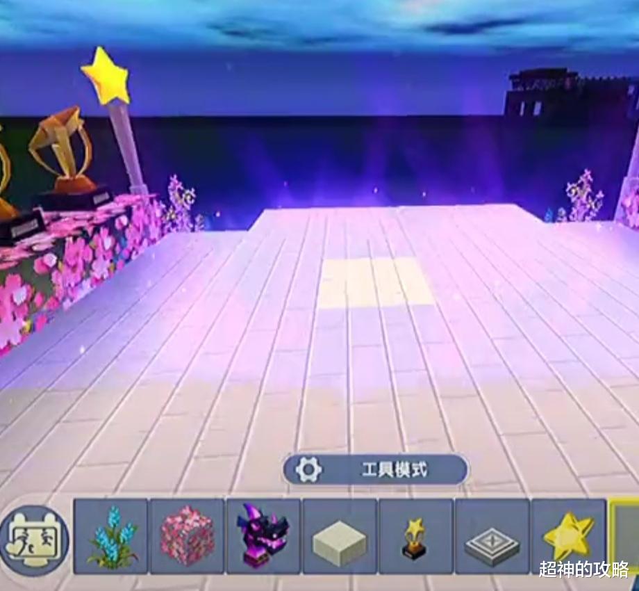 西游战记_《迷你世界》:星光舞台搭建教程,让你在游戏中也能蹦迪