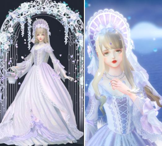 盘点云裳羽衣的婚纱套装,因爱之名最梦幻,圆了公主婚礼的梦 婚礼 时装搭配 婚纱 每日推荐  第5张