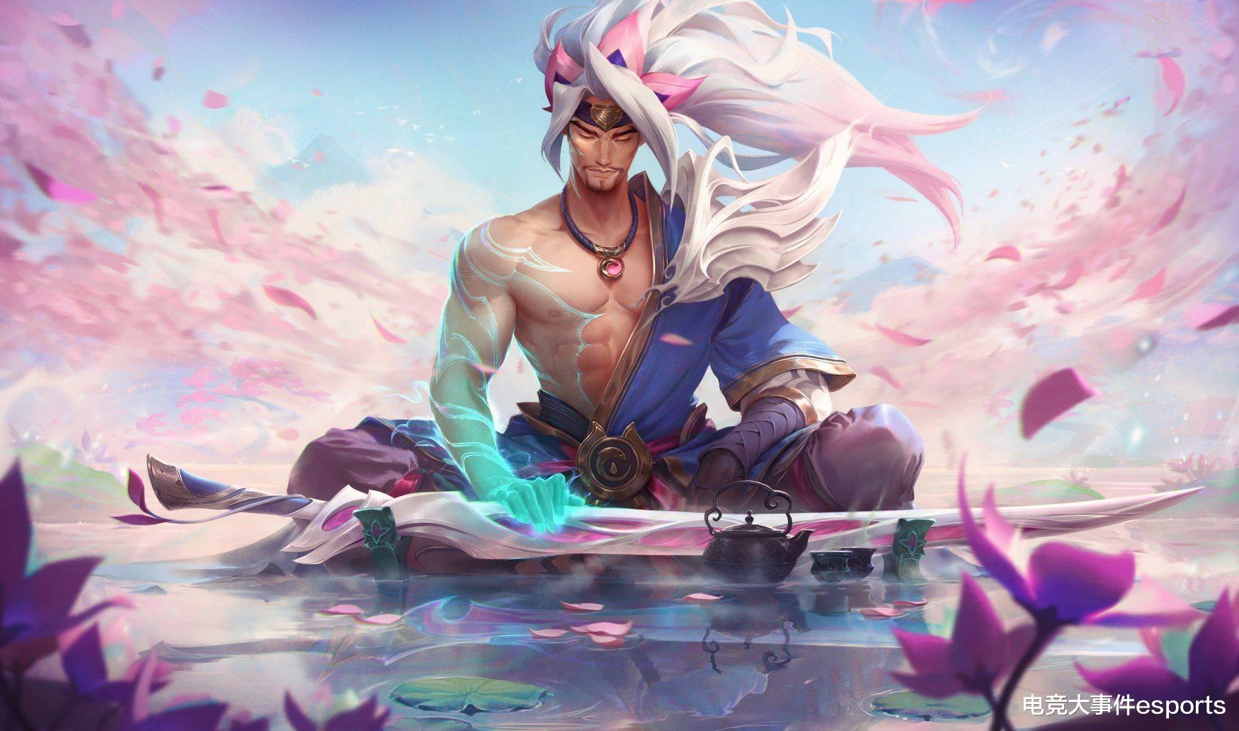 《【煜星娱乐注册平台官网】LOL灵魂莲花亚索新皮肤体验:粉色剑士外表下,藏着一颗猛男的心!哈撒给》