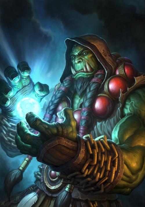 《【煜星在线注册】《魔兽争霸3》:兽族四位英雄所有技能,所对应的炉石传说卡牌~》