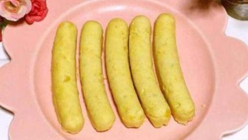 减脂食谱玉米鸡肉肠的制作方法
