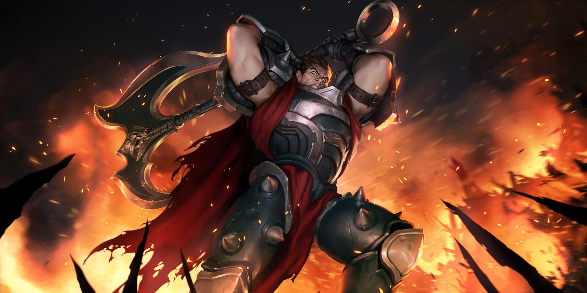 《【煜星娱乐公司】英雄联盟中迷惑性很强的角色,看起来是个坦克,实际上伤害爆炸》