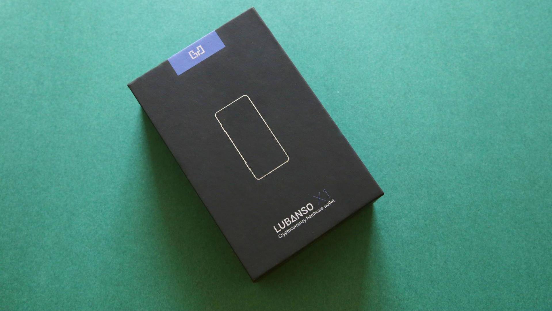 《机锋实验室》:LUBANSO X1硬件钱包开箱评测