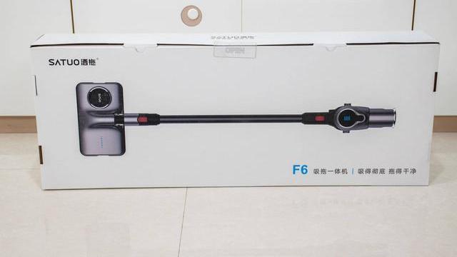 每分钟600次拖地速度-洒拖F6 吸拖一体机 评测体验