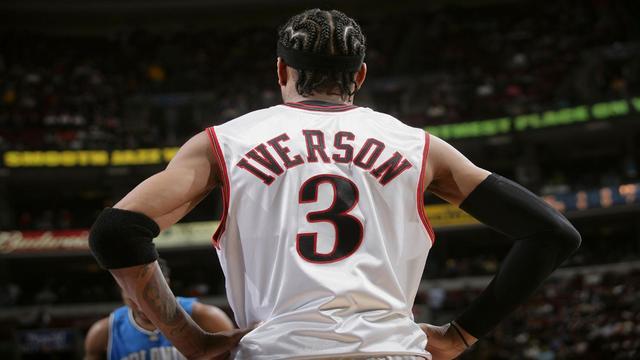 艾弗森记忆—从控卫变分卫,进攻天赋被彻底释放季后赛对飙卡特! 洛杉矶湖人队 篮球 76人 76人队 艾弗森 nba 单机资讯  第6张