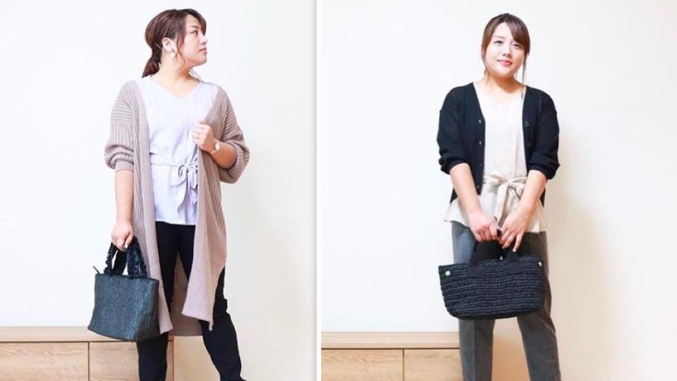 """贴心实用的日本""""基础穿搭""""示范,大码女人照着穿,好看又省钱"""