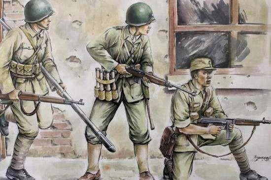 在兰姆伽受训后,远征军官兵发现,骑摩托、吃饭团的日军其实很穷 陆军 单机资讯  第1张