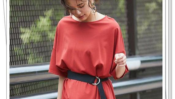 T恤的漂亮搭配,日系的流行造型,优雅穿搭风格,舒适夏日感觉
