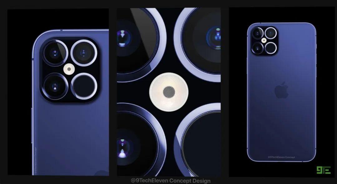 iPhone 12 Pro概念机曝光!这样的设计终于完美了!