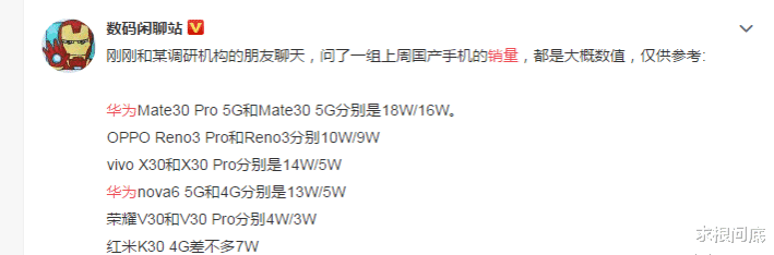 华为刚宣布2019年5G手机出货量,友商就科普什么是出货量