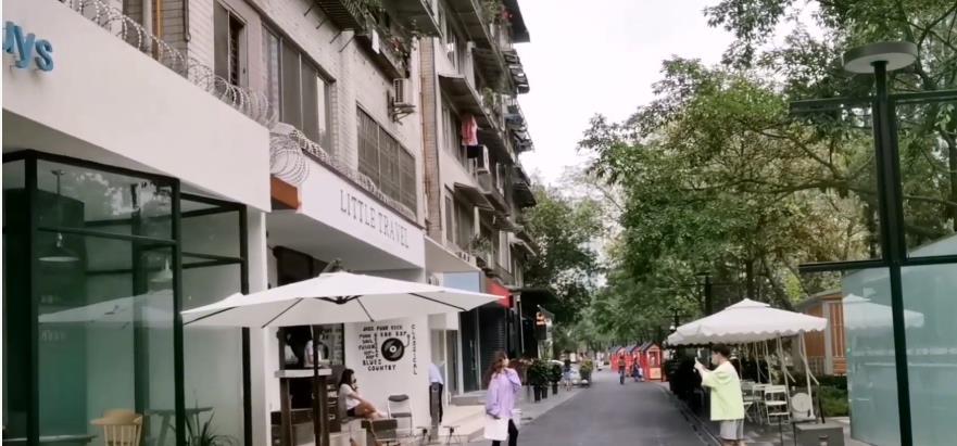 成都市中心普通街道,昔日藏在深闺无人识,如今精心打造成网红  每日推荐  第3张