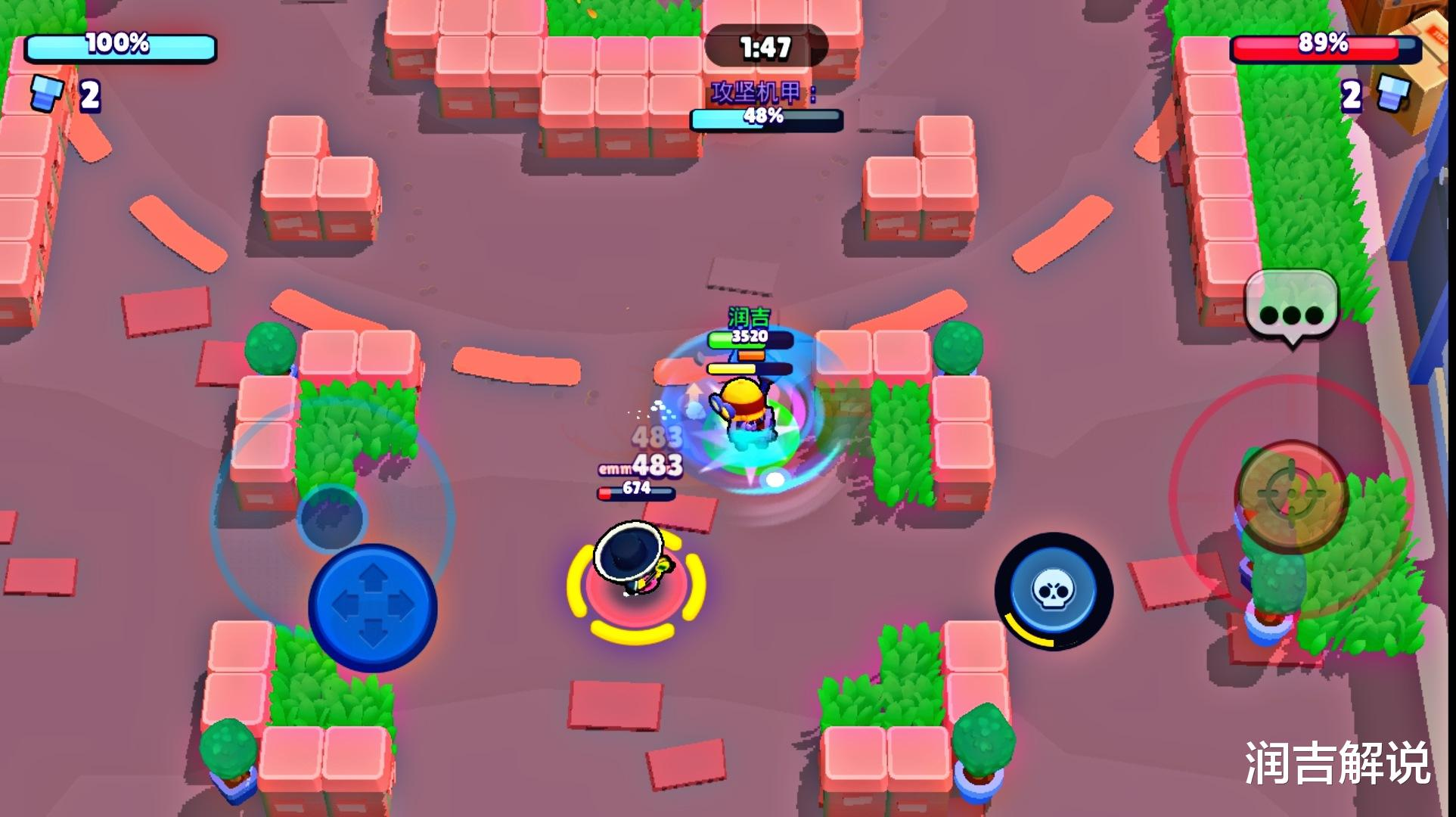 《【煜星app注册】荒野乱斗:伤害不高的小旋风,看似不强势,但玩家操控到位很强势》