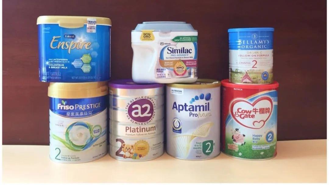 27款婴幼儿奶粉乳糖含量检测(下):1款国产、1款海外版,乳糖含量略低。