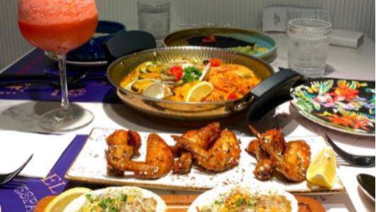 深圳福田美食:适合小姐妹聚餐的西班牙餐厅,精致到餐具都很好看