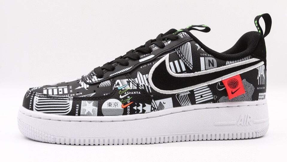 东京地球日Nike Air Force 1耐克空军一号