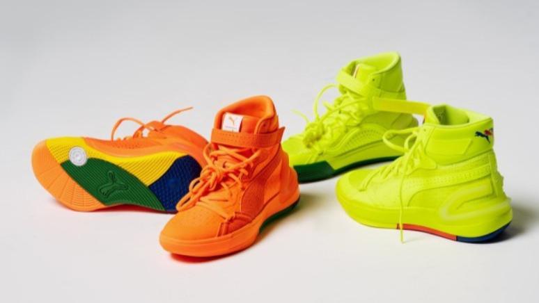 彪马再度回归篮球鞋,总是不经意间带来惊喜!已有球员多次上脚这双篮球鞋。
