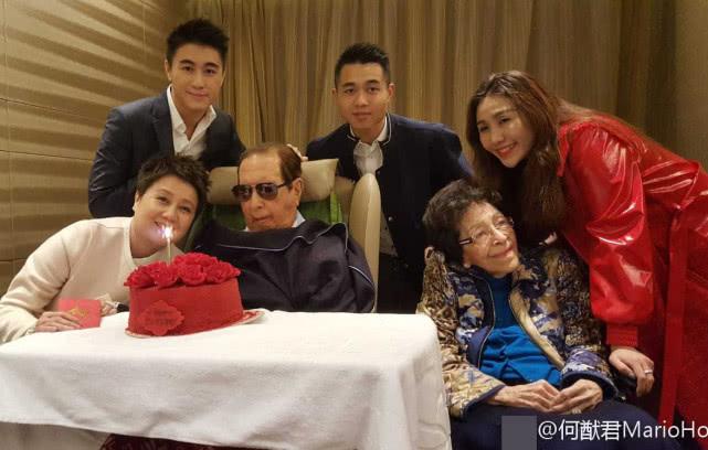 98岁赌王何鸿燊病逝,墓地公开,生前最后公开照曝光