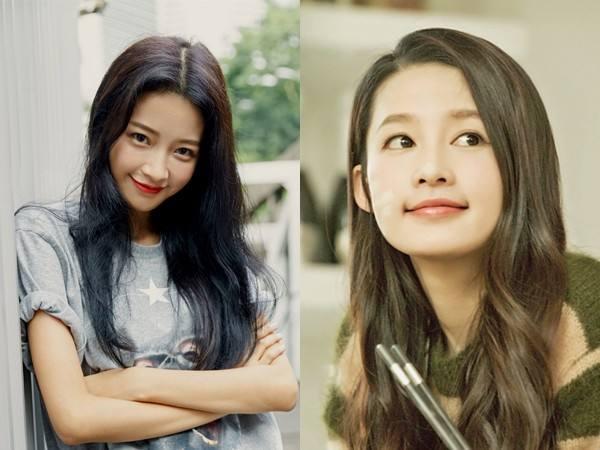 都说孙怡和李沁长得很像,看看两人的素颜照, 差距不是一点点