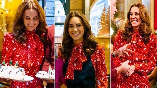 凯特王妃经典红色系穿搭:从浮夸套装到干练裙装,时尚进阶史